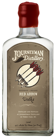Journeyman Distillery Vodka Red Arrow